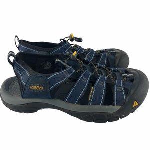 Keen Newport H2 Water Sandal Shoe Navy Size 7.5